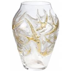 """Ваза для цветов """"Hirondelles"""" Lalique 10623800"""