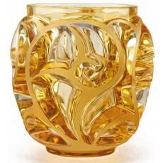 """Ваза для цветов золотая (малая) """"Tourbillons"""" Lalique 10571300"""
