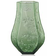 "Ваза для цветов зелёная ""Ombelles"" Lalique 10550600"