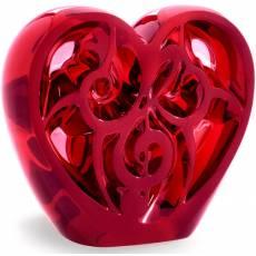 "Статуэтка ""Сердце"" красное Lalique 10492300"