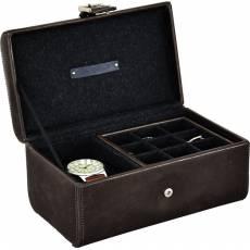 Шкатулка для хранения 1 часов и запонок LC Designs Co. Ltd. 73800