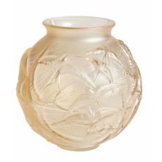 """Ваза для цветов золотая """"Hirondelles"""" Lalique 10645000"""