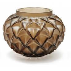 """Ваза для цветов бронзовая большая """"Languedoc"""" Lalique 10488300"""