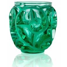 """Ваза для цветов мятно-зеленая (малая) """"Tourbillons"""" Lalique 10684900"""