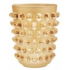 "Ваза для цветов золотая ""Mossi"" XXL Lalique 10411600"