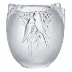 """Ваза для цветов """"Perruches"""" Lalique 10065900"""