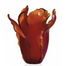 "Ваза для цветов ""Tulipe"" красная Daum 03574-9"