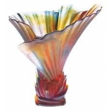 "Ваза для цветов ""Palm"" средняя (h=23,5) Daum 03456"