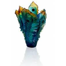 """Ваза для цветов """"Fleur de Paon"""" (h=39) Daum 05692"""