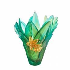 """Ваза для цветов """"Tressage"""" (h=37) Daum 05637"""