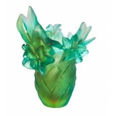 """Ваза для цветов """"Tressage"""" (h=21) Daum 05627"""