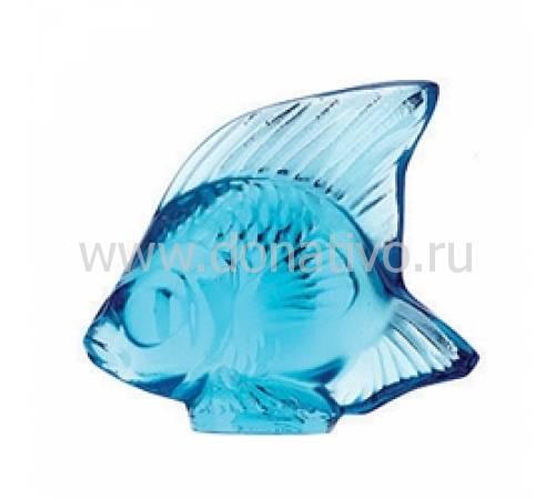 """Статуэтка """"Рыбка"""" голубая Lalique 3000200"""