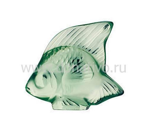 """Статуэтка """"Рыбка"""" ментоловая Lalique 3001900"""