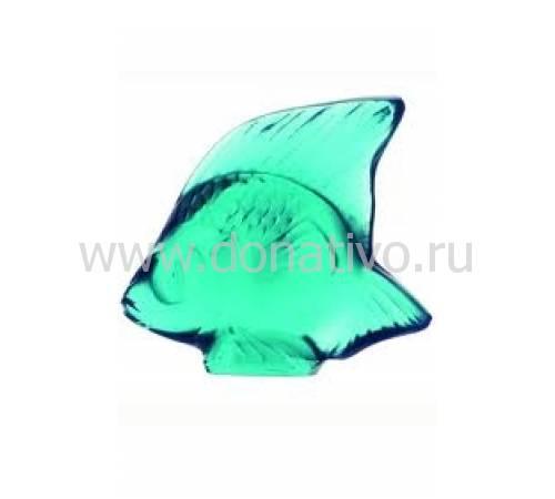 """Статуэтка """"Рыбка"""" светло-бирюзовая Lalique 3002500"""