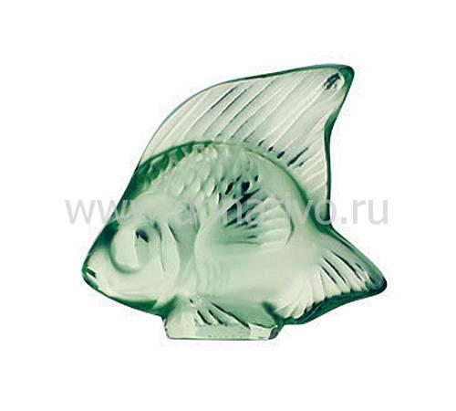 """Статуэтка """"Рыбка"""" светло-зеленая Lalique 3001100"""