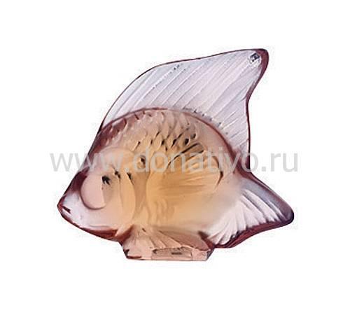 """Статуэтка """"Рыбка"""" светло-розовая Lalique 3001700"""
