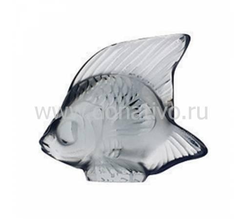 """Статуэтка """"Рыбка"""" серая Lalique 3001400"""