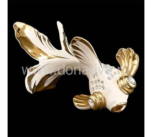 "Статуэтка ""Золотая рыбка"" Ahura S1845W/AOPLY"