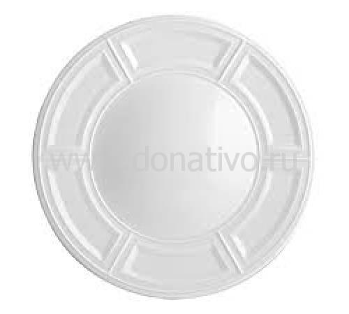 "Тарелка для хлеба и масла ""Naxos Blanc"" BERNARDAUD 3NaxosBlanc"