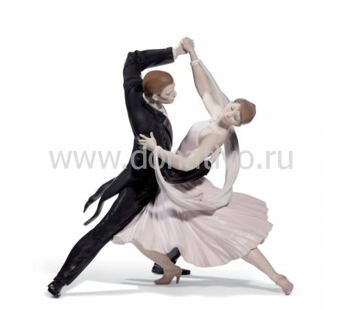 "Статуэтка ""Элегантный фокстрот"" Lladro 01008638"