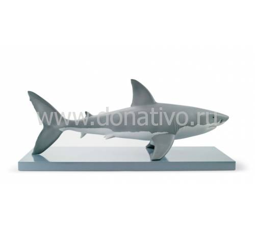 "Статуэтка ""Белая акула"" Lladro 01008470"