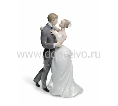 """Статуэтка """"Вальс новобрачных"""" Lladro 01008509"""