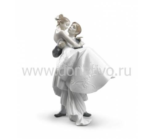 """Статуэтка """"Самый счастливый день"""" Lladro 01008029"""