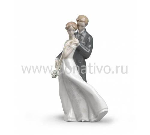 """Статуэтка """"Бесконечная любовь"""" Lladro 01008274"""