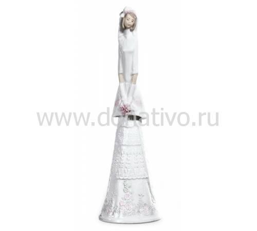 """Статуэтка """"Невеста-колокольчик"""" Lladro 01006200"""