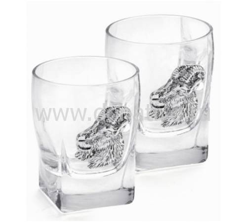 "Набор из шести бокалов для виски ""Коза"" Chinelli 2200400"
