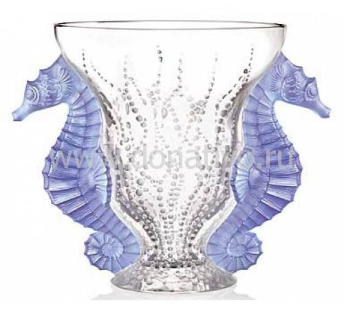 "Ваза для цветов ""Poseidon"" Lalique 10446200"