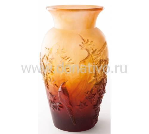 """Ваза для цветов """"Осень"""" оранжевая Daum 05294-3"""