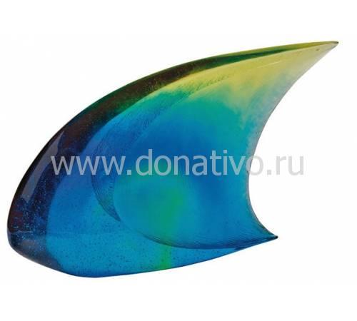 """Статуэтка """"Рыбка"""" сине-желтая Daum (Лимитированная серия 375 экз.) 05302"""