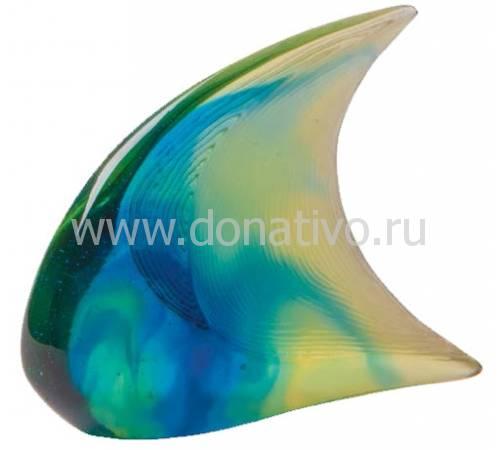 """Статуэтка """"Рыбка"""" сине-желтая Daum (Лимитированная серия 375 экз.) 05303/C"""