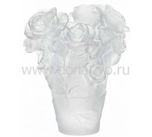 """Ваза для цветов """"Rose Passion"""" белая (h=17) Daum 05287-1"""