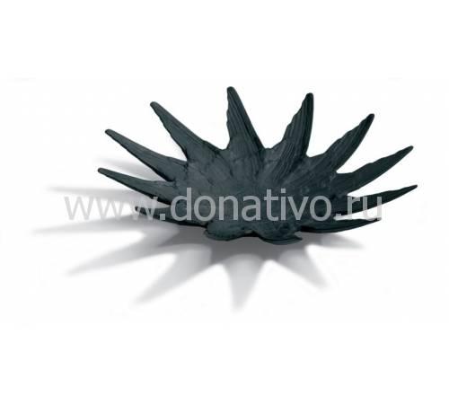 """Ваза для фруктов """"Черный лебедь"""" Lladro 01017059"""