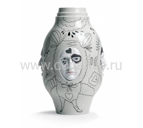 "Ваза для цветов ""Разговор II"" Lladro 01007258"