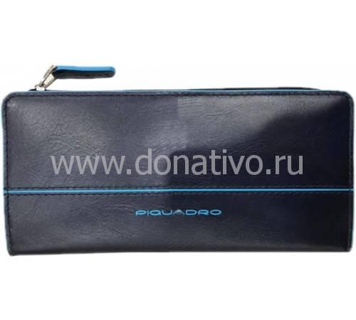Женское портмоне Blue Square Piquadro AS458B2/BLU2