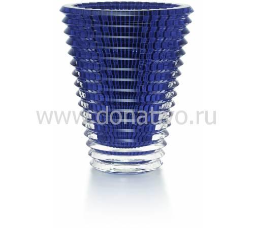 """Ваза для цветов синяя 420 """"Eye"""" Baccarat 2811216"""