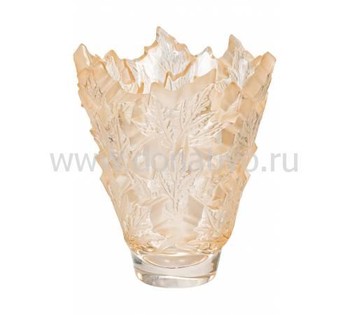 """Ваза для цветов золотая """"Champs‑Élysées"""" Lalique 10598800"""