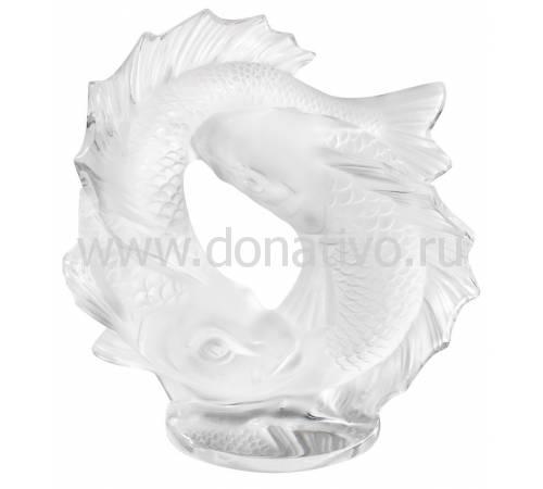 """Статуэтка малая """"Две рыбы"""" Lalique 10672800"""