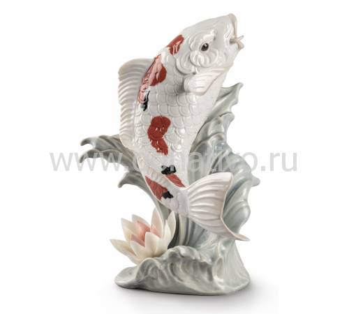"Статуэтка рыба ""Кои"" Lladro 01009431"