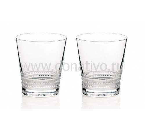 """Набор из 2-х стаканов для виски """"Tumblers №1"""" Lalique 1742100"""