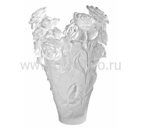"""Ваза для цветов """"Rose Passion Magnum"""" белый (h=53) Daum (Лимитированная серия 50 экз.) 05106-5"""